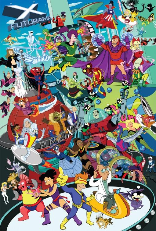 Futurama e o X-Men