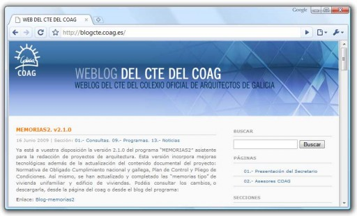 Blog do CTE do COAG