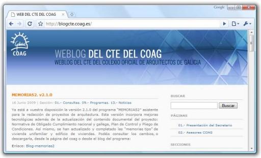 Blog do CTE do COAG