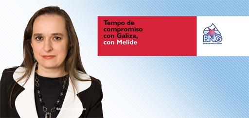Soqui Cea será a candidata do BNG de Melide