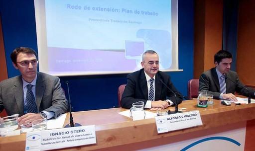 Alfonso Cabaleiro anunciou o inicio do Plan de Despregue da TDT na Área Técnica de Santiago de Compostela