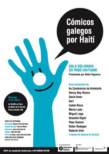 Cómicos galegos por Haití