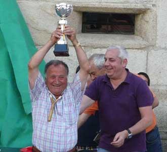 Leoncio Loureiro foi o gañador absoluto