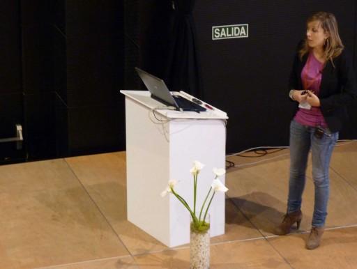 Luisa Rodríguez Arca en B-web 2011