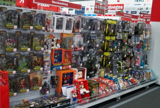 Merchandising no Media Markt