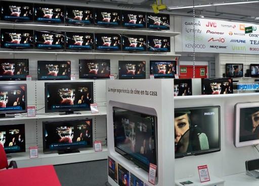 Televisores no Media Markt