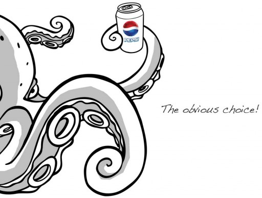O polbo Paul e a Pepsi