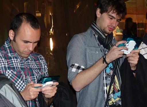 Presentación da 3DS en Madrid