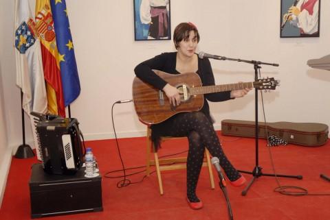 Concerto que se celebrou na Casa de Galicia en Madrid