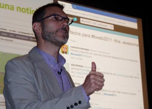 Víctor Puig no B-web 2011