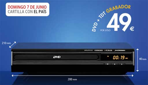 DVD + TDT Gravador