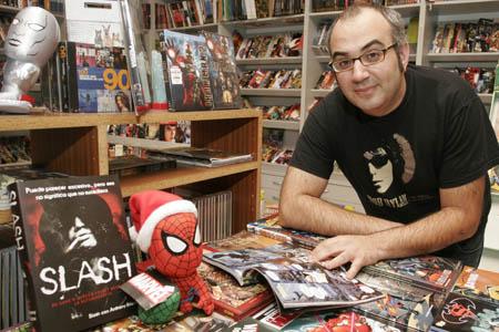 Fernando Sampedro en Tanxencias Comics