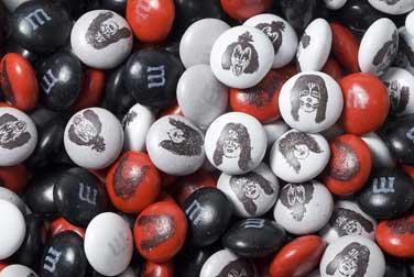 caramelos coas caras de KISS