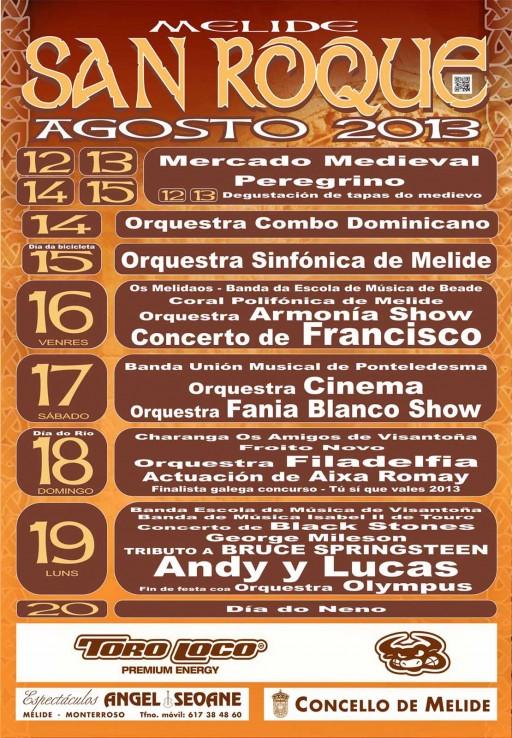 cartel do San Roque 2013