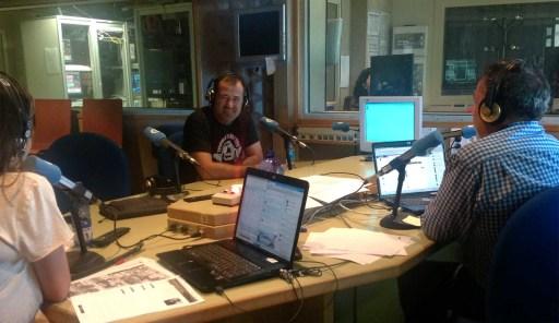 Luís Davila na Radio Galega