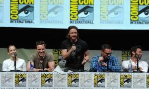 Os protagonistas de X-Men: Días del Futuro Pasado pasaron pola última edición da Comic-Con de San Diego