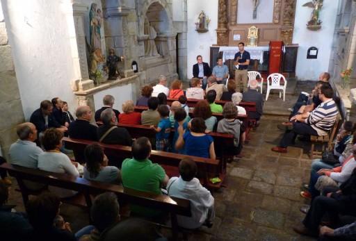 o novo trivial na capela de San Antón