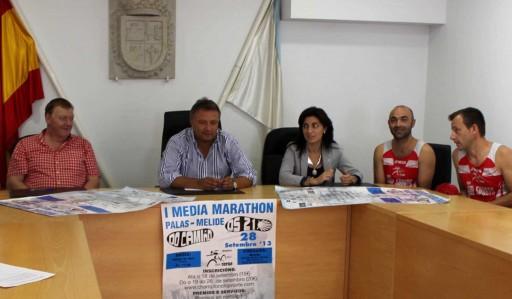 Presentación da Media Maratón