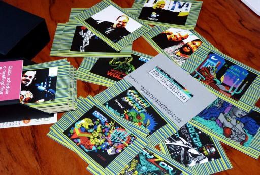 tarxetas de visita ZX Spectrum +2