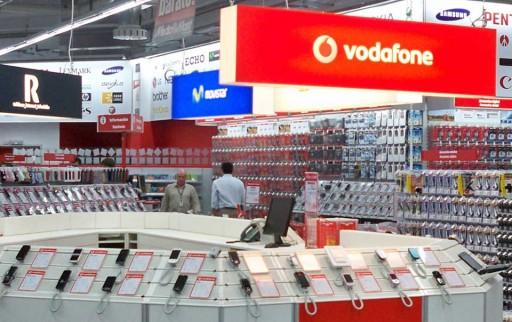 sección de móbiles do Media Markt