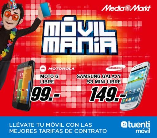 Moto G de oferta en Media Markt