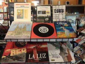 algúns comics da tenda ferrolá de Metrópolis Comics