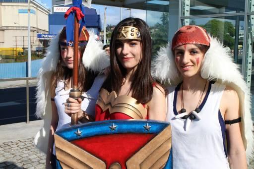 Wonder Woman coas princesas Mononoke