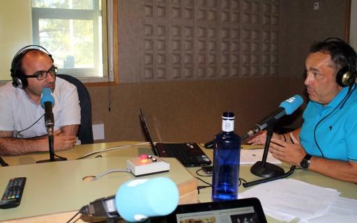 Xosé Manuel Rey no programa A Tarde da Radio Galega