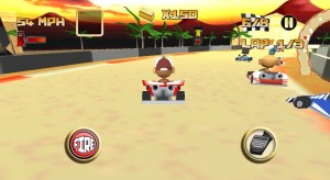 Kartoon Crazy Racing