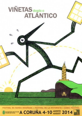 Cartel oficial de Viñetas 2014