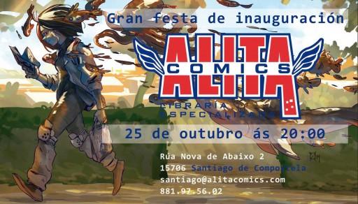 Inauguración de Alita Comics en Compostela