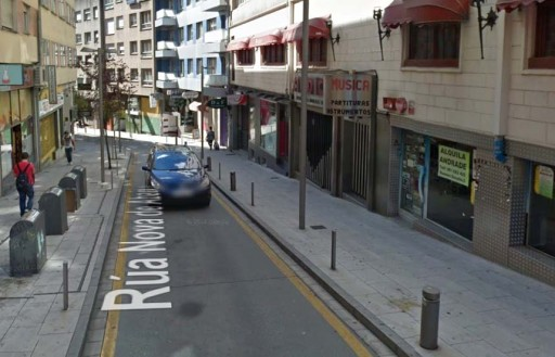 A vella tenda musical vista a través de Street View