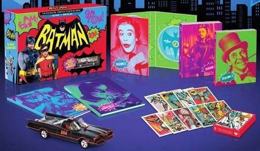 Extras da edición en Blu-ray da serie de Batman