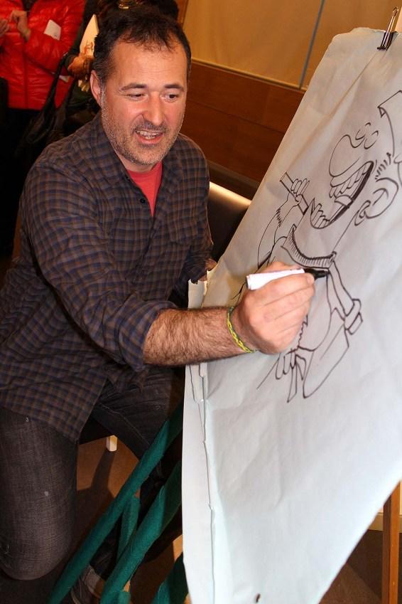 debuxando a Dora a Desbrosadora