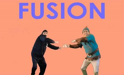 Zorman facendo a técnica da fusión