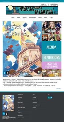 Nova web de Viñetas desde o Atlántico