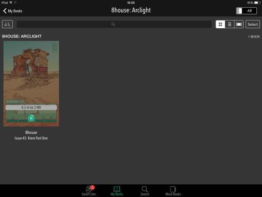 descargando co cómic no iPad