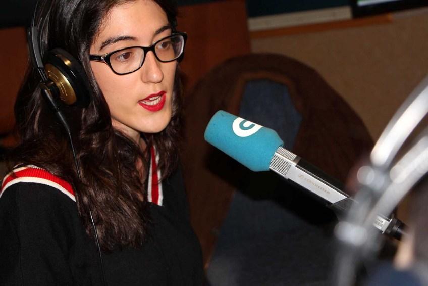 Violeta Moon na Radio Galega