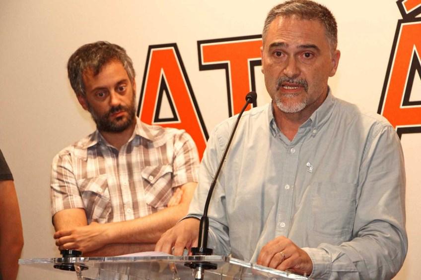 Miguelanxo Prado na inauguración de Viñetas