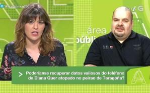 Falando do móbil de Diana Quer na Galega