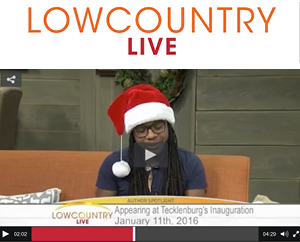 Appearance on Lowcountry Live ABC News 4, December, 2015