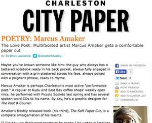 The Love Poet.  Charleston City Paper, Nov. 2007