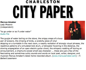 CD Review: Lady Phoenix Charleston City Paper, Aug. 2009
