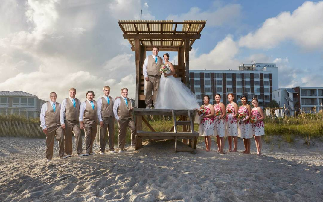 Blockade Runner Resort Wedding at Wrightsville Beach