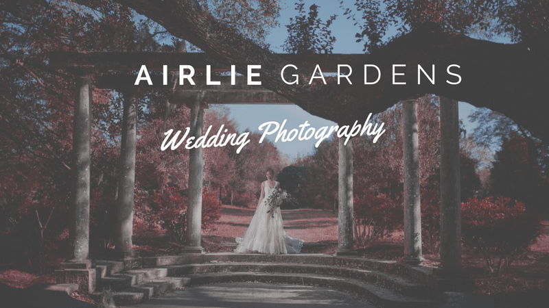 Airlie Gardens Wedding Photography