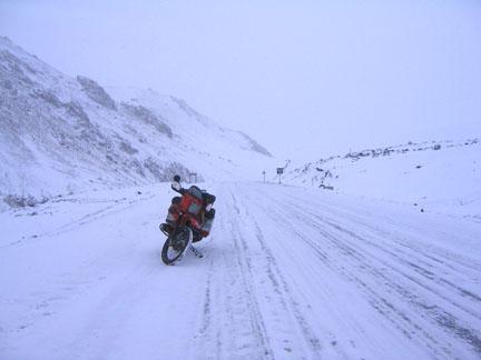 the pass from Bishkek to Uzbekistan