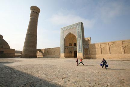 Kalon Minaret; Bukhara, Uzbekistan
