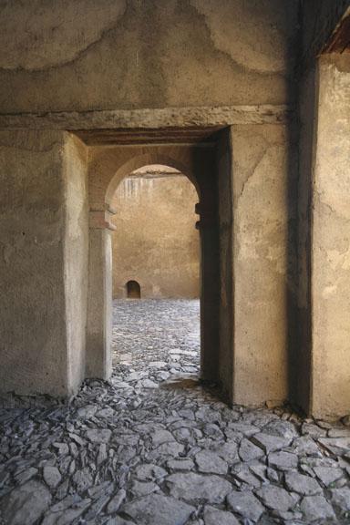 inside and Ethiopian castle, Gonder