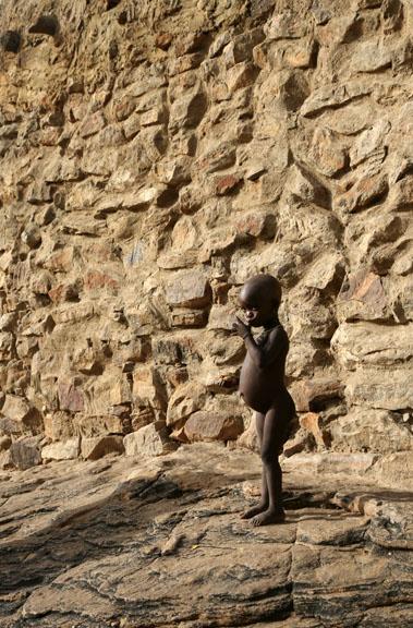 Dogon girl, Mali