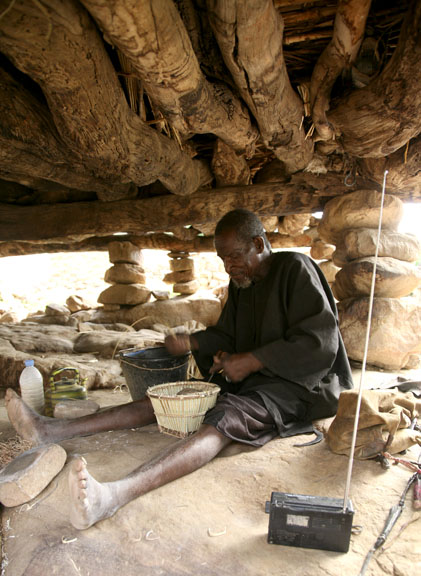 basket weaving, Dogon country